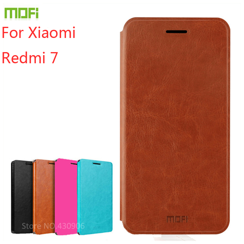 For Xiaomi Redmi Y3 Case Cover MOFI Flip 7 High Quality Leather Stand