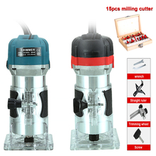 woodworking electric trimmer slotting…