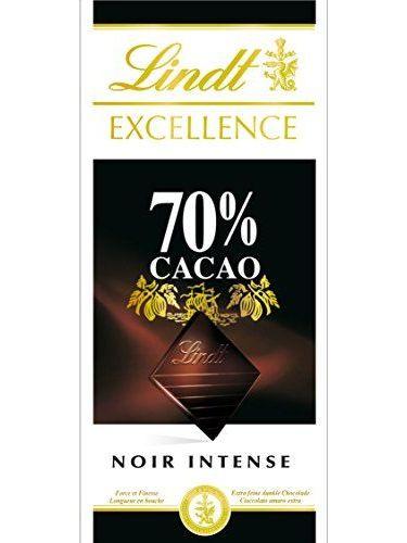 Lindt Eccellenza Tavoletta Cioccolato Nero 70% 100 Glot 5 Compresse