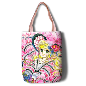 Image 3 - Lady Georgie Cartoon Large Capacity bag Shoulder Shopper lady handbag women shopping Leisure Fashion Satchel bag