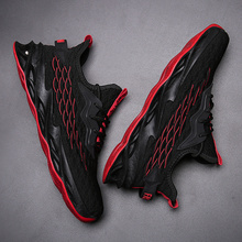 High Quality Blade Running Shoes For Men Breathable Mesh White Sports Shoes Comfort Black Sneakers Fashion Lace Up Man Sneakers li ning men s light running shoes li ning comfort breathable sneakers urban walk sports shoes acgl005
