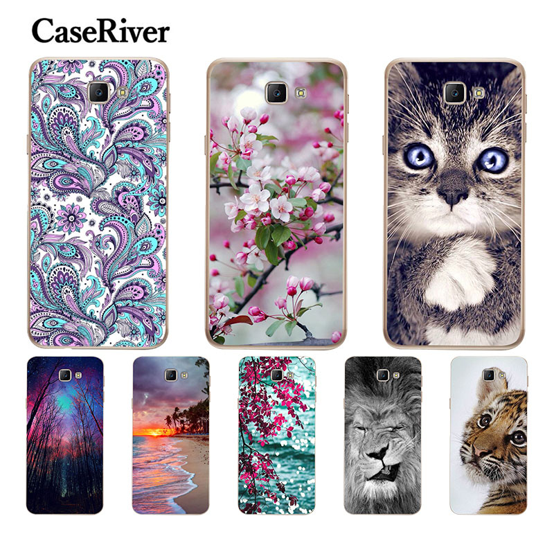 "CaseRiver TPU 5.0 ""sFOR Samsung Galaxy J5 Prime Cover Cover Shell mbrojtës P FORR Capa Samsung J5 Case Case G570 G570F SM-G570F"