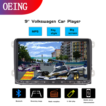 OEING 2 din Car Radio 9 HD Autoradio Multimedia Player 2 DIN Touch Screen Auto audio Car Stereo MP5 Bluetooth USB TF FM Camera image