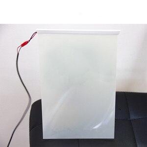 """Image 5 - SUNICE Film Gebäude Fenster Gläser Smart Film 4 """"x 3"""" PDLC Magie Schaltbare Transparent Farbe Film Probe Größe für Prüfung"""