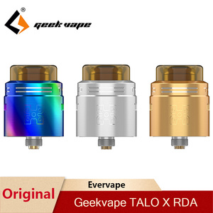 Image 1 - Orijinal Geekvape TALO X RDA 24mm Vape tankı Rebuildable damlama Atomizer 510 iplik Pin Squonk kutusu Mod VS wasp Nano