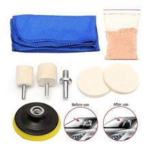Universal Car Glass Polishing Kit Windscreen Scratch Repair Auto Restore Tool