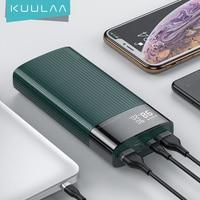 KUULAA-Banco de energía de 20000ma PD, cargador portátil de carga rápida, carga rápida, 3,0, para XIAOMI Redmi Note 10, 9, iphone 12, 11