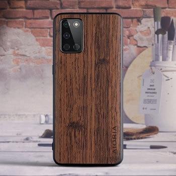 Di caso per Oneplus 8T 8 Pro 7T Pro 6 6T BambooLike Buona toccare sentire anti finger print coque per Oneplus Nord