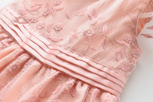 Image 3 - אהבה DD & MM בנות שמלות 2020 קיץ ילדים חדשים ללבוש בנות רשת מתוק פרח נסיכת שמלה