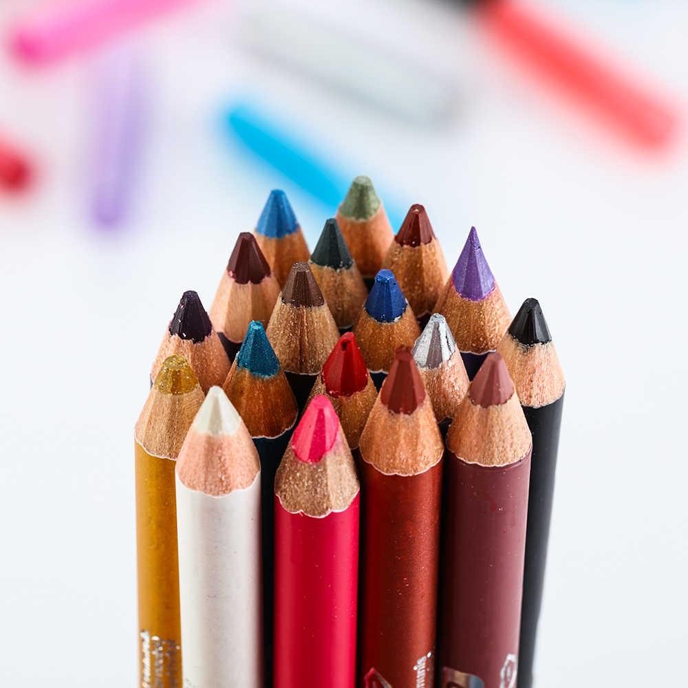 1 Pc Langdurige Waterdichte Dubbele Hoofd Matte Eyeliner Potlood Glitter Oogschaduw Pigment Eye Liner Pen Cosmetische Eye Makeup Tools