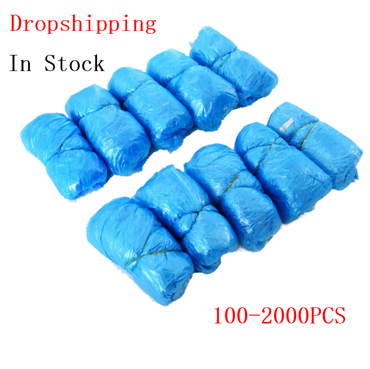 2000PCS Disposable Boot Safety Shoe Cover Carpet Protectors Hospital Rainy Season Anti Slip Boot Safety Over Shoes Boot Covers