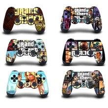 Grand Theft Auto V GTA 5 Bảo Vệ Miếng Dán Kính Cường Lực Cho PS4 Bộ Điều Khiển Da Cho Máy Chơi Game Playstation 4 Pro Slim Decal PS4 miếng Dán Da