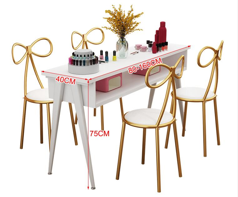 Nail Table Economy Single Double Triple Manicure Table Ins Nail Table Net Red Nail Table And Chair Set
