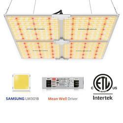 Lámparas de cultivo de luz Led de 4000W, tablero cuántico de espectro completo para cultivo de plantas Samsung LM301B Meanwell