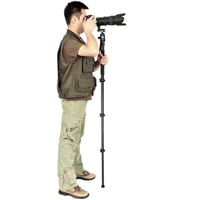 Sirui Monopé Profissional Para Vídeo W2204 & Câmera/Tripé Para Vídeo/Cabeça do Tripé Para Monopé Combo Híbrido Para câmera DSLR