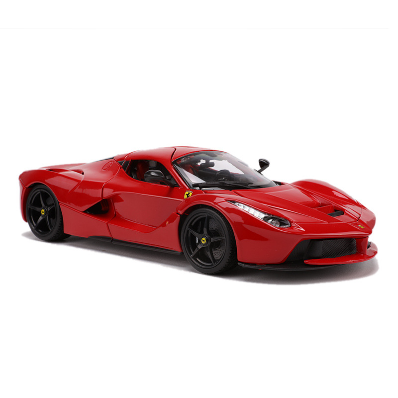Bimeigao 1: 18 Ferrari Car Model LaFerrari Pull Ferrari Sports Car Model Toy