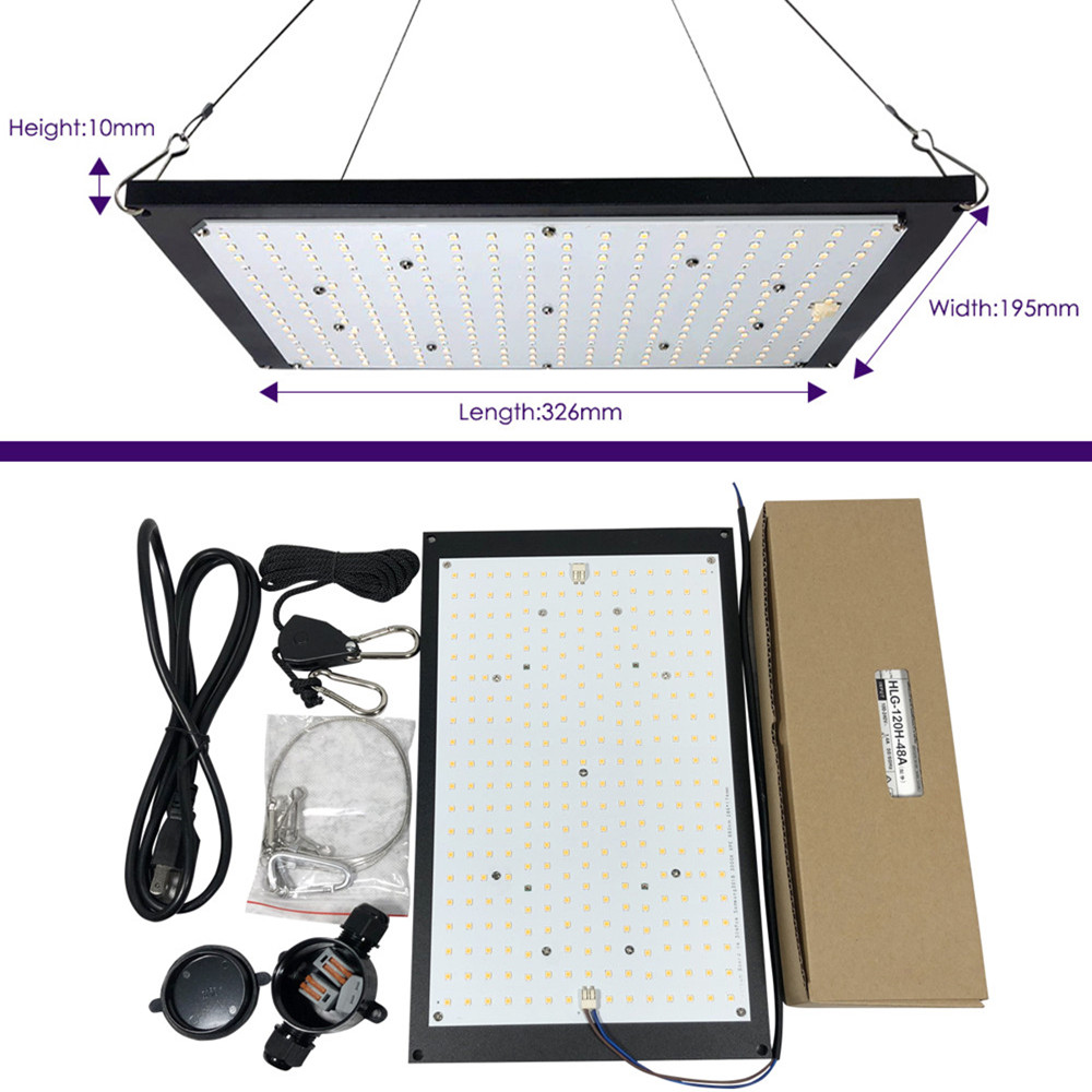High Quality Qkwin 120W 240W Led Grow Light Quantum Board Full Spectrum Samsung LM301B DIY (MeanWell-XLG -Driver)
