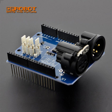 DFRobot DMX Shield Expansion board module Compatible with Arduino for DMX Master device artwork into DMX512 networks