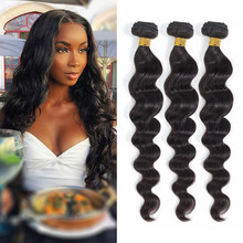 Royal Impression Indian Loose Deep Wave 1/3/4 Bundles Deal Human Hair Natural Color Remy Hair Extension 10-30 Inch Free Shipping