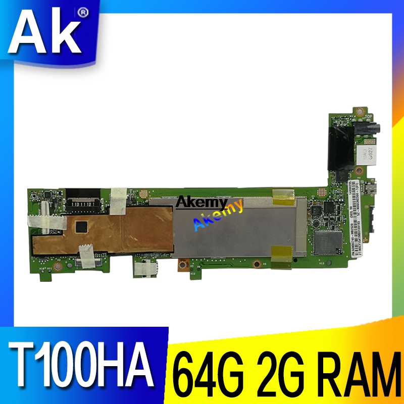 Akemy for ASUS book Transformer T100H T100HA T100HN T100HAN tablet motherboard 64GB SSD + 2GB ram Z8500 CPU|Motherboards| |  - title=