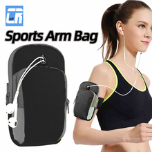 GYM Armband for iPhone XR XS 8 7 6 Plus Universal Sports Running Bag for Huawei P20 10 9 Lite Mobile Phone Arm Bag Outdoor Pouch