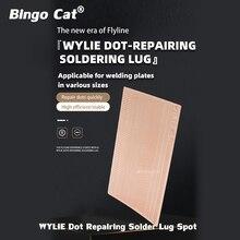 WYLIE Dot 수리 솔더 러그 스폿 납땜 패드 iPhone 용접 보드 플라이 와이어 플라이 라인 교체 IC 수리 픽스 2650 도트