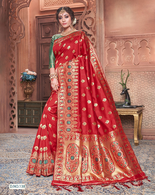 India Sari Ethnic Style Traditional Silk Embroidery Dress Female Includes Sare Choli Petticoat Indues