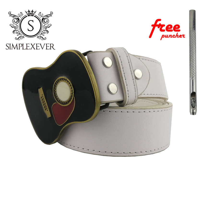 New Fashion Music Tools Guitar Belt Buckle Suitable For 4cm Width Belt Western Men Belt Buckle Drop Shipping