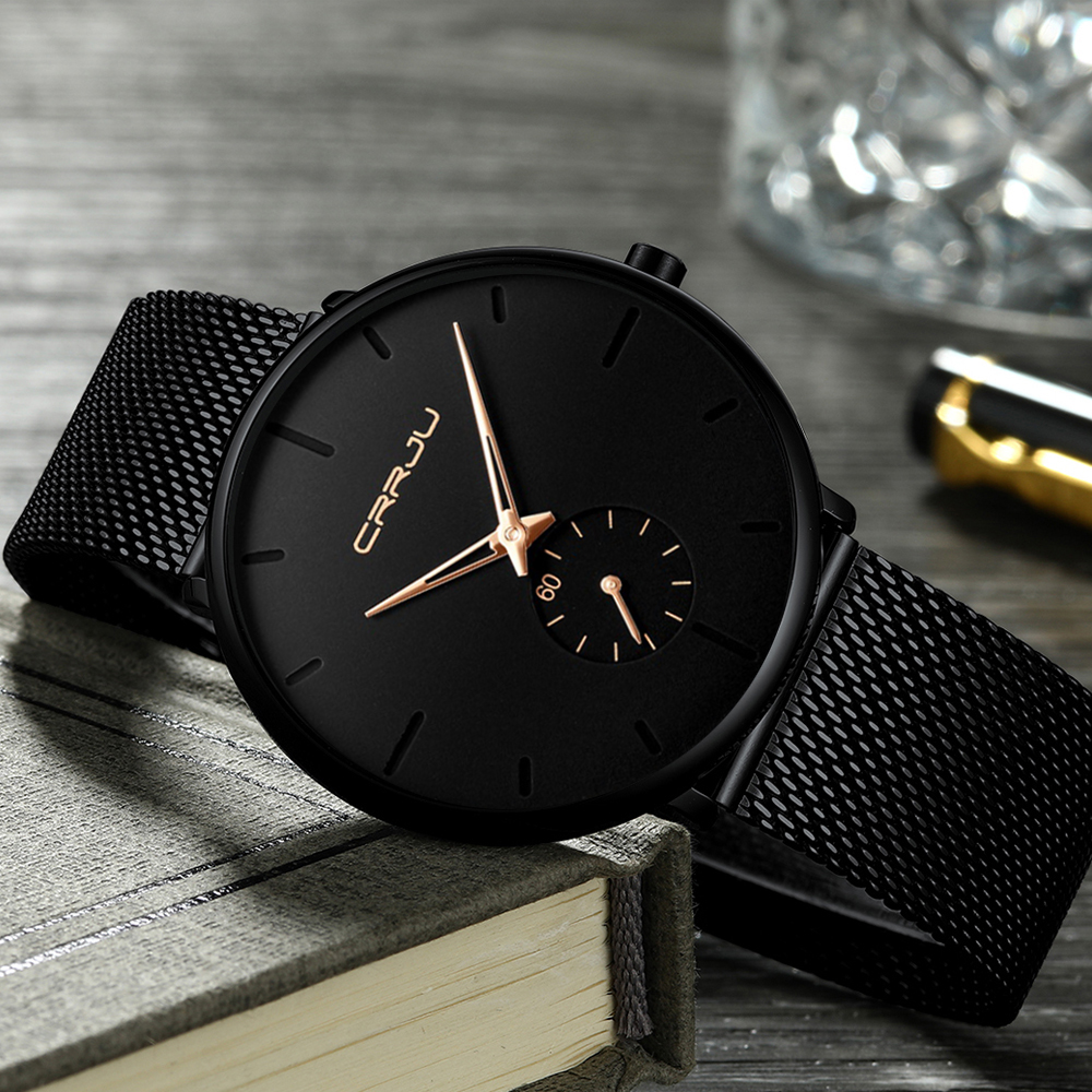 Black Wrist Watch Women Watches Ladies Business Brand Wristwatch Stainless Steel Female Quartz Watch For Women Clock Big Dial