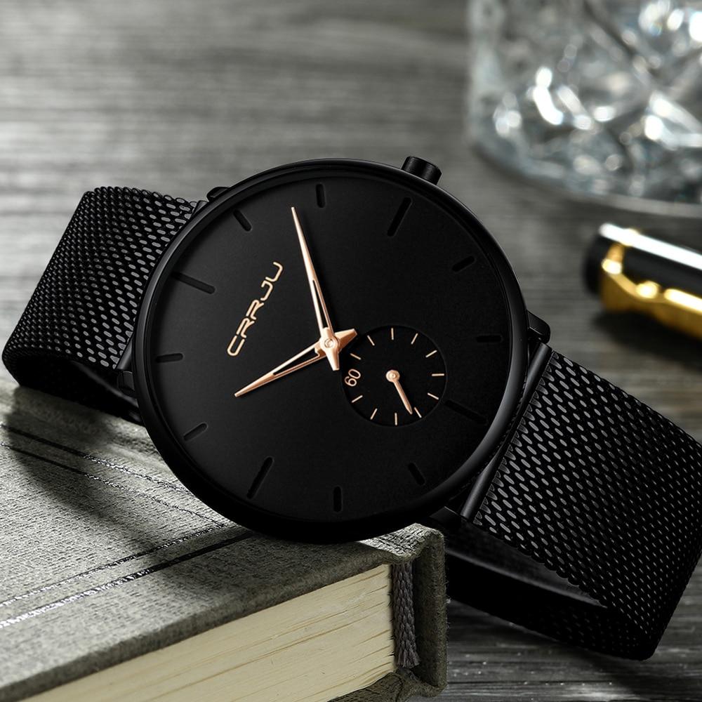 Black Wrist Watch Women Watches Ladies Business Brand Wristwatch Stainless Steel Female Quartz Watch For Women Clock Big Dial