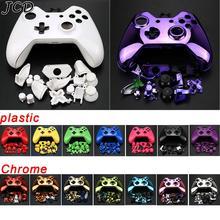 JCD kit de carcasa de controlador inalámbrico, juego completo de placas frontales, botones y Marco interior para Xbox One