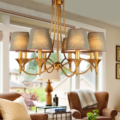 Contemporary Chandelier Modern American Style Dining Room