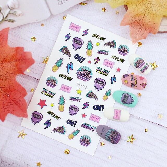 наклейка для детей фрукты луна звездная смола пинтинг 3d украшение фотография