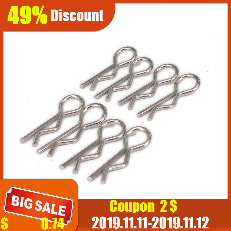 100pcs Body Shell Clip Pin For HSP Redcat RC 1//10 1//8 Model Car Spare WT