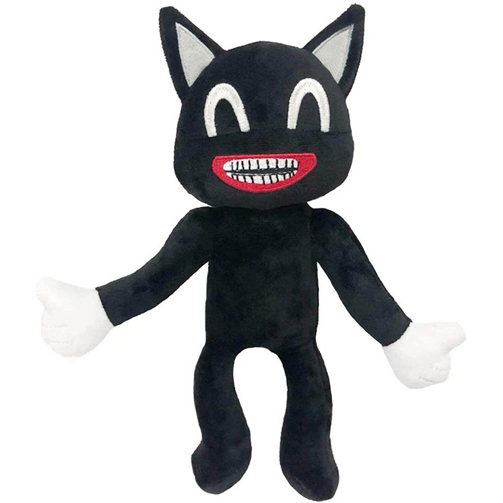 Плюшевая игрушка в виде головы сирены, 30 см, плюшевая игрушка, плюшевый мультяшный Кот, мягкая кукла, ужас, плюшевые игрушки для детей, рождес...