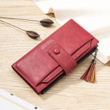 Leather Women Wallets Coin Pocket Hasp Card Holder Money Bags Casual Long Ladies Clutch Phone Wallet Women Designer slim Purse tonuox women wallets cute dogs animal pattern casual lady coin purse pocket handbags long moneybags wallet pouch dog purses bags