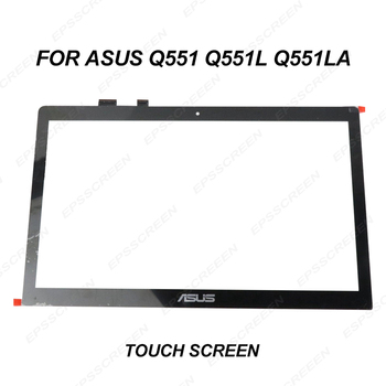 """for ASUS Q551 Q551L Q551LA 15.6"""" Touch Screen Digitizer display front Glass panel FP-TPAY15611A-01X"""
