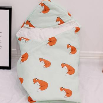Śpiwór dla dziecka wiosna jesień ciepłe koperty dla noworodka zagęścić wózek Sleepsacks niemowlę wiatroszczelne koperty śpiwór tanie i dobre opinie W wieku 0-6m 7-12m 13-24m 25-36m Bawełna włókno bambusowe CN (pochodzenie) Unisex FU4006 Cartoon