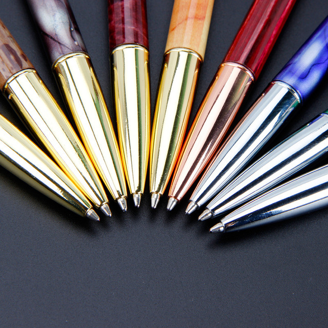 Metal ball-point pen new office stationery creative gyration ballpoint pen 2