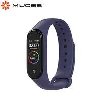 Per Xiaomi Mi Band 4 3 cinturino per orologi intelligenti polso in Silicone Correa Miband 4 bracciale cinturino colorato Xiomi Opaska My Bend 3