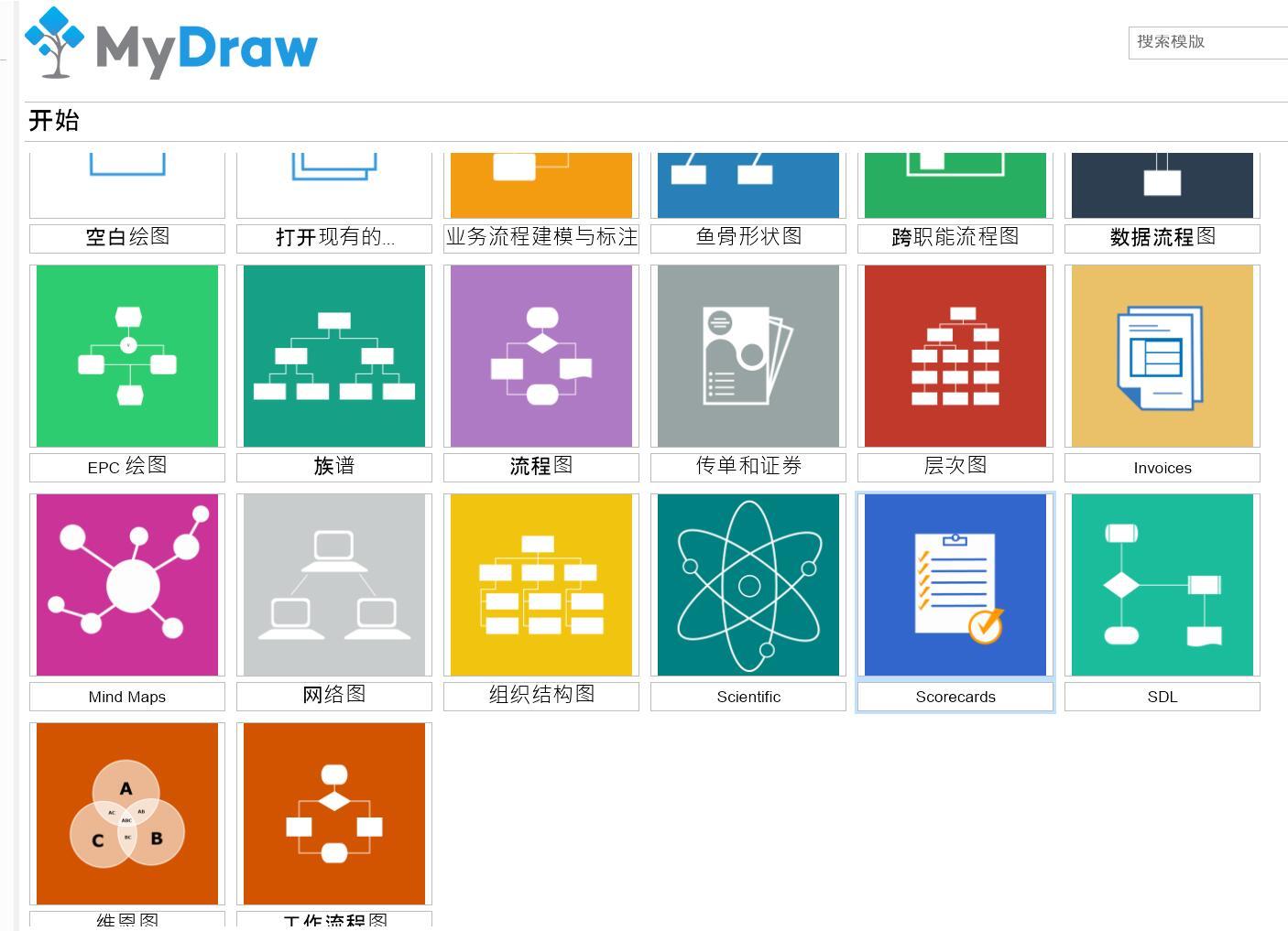 限时免费 思维导图/网络拓扑软件MyDraw