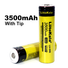Liitokala Lii35S 18650 lithium battery 3.7VLi-ion rechargeable battery light headlamp torch flashlight 18650 battery