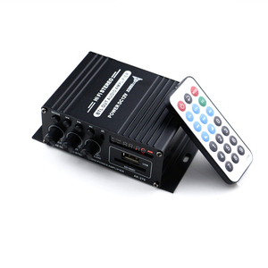 Image 1 - AK370 صوت صغير مكبر كهربائي BT استقبال الصوت الرقمي أمبير ذاكرة يو إس بي فتحة للبطاقات مشغل MP3 راديو FM مع جهاز التحكم عن بعد