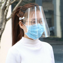 1pc/2pcs Clear Adjustable Saliva-proof Dust-proof Protective Covers Anti-splash Ourdoor  Comfortable To Wear