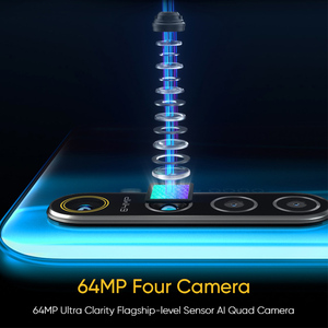Image 4 - Global Version REALME X2 6.4AMOLED Screen Snapdragon 730G 64MP Quad Camera NFC OPPO VOOC 30W Fast Charger Moblie Phone
