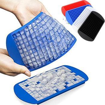 Cubitos de hielo de silicona de calidad alimentaria, fabricante de cubitos de hielo DIY, cubito de hielo de silicona 160 pequeño