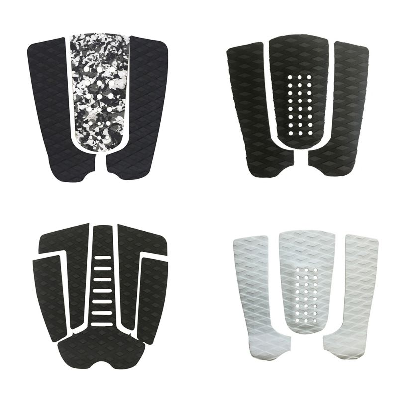 Surfboard Traction Pad Anti-slip Corrosion Resistant Adhesive EVA Grip Surf Deck Tail Pads Mat Sheetym