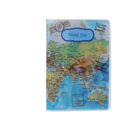 Travel Utility Simple Passport ID Card Cover Holder Case Protector Skin PVC New M5TE