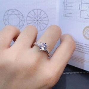 Image 2 - [Meibapjモアッサナイト、カラットスーパーホット販売、に匹敵するダイヤモンド、絶妙な技能