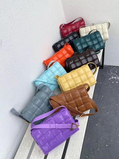 Fashion Genuine Leather Crossbody Bag Women Small Square Bag Classis Box Bag Simple Girls Shoulder Messenger Bag
